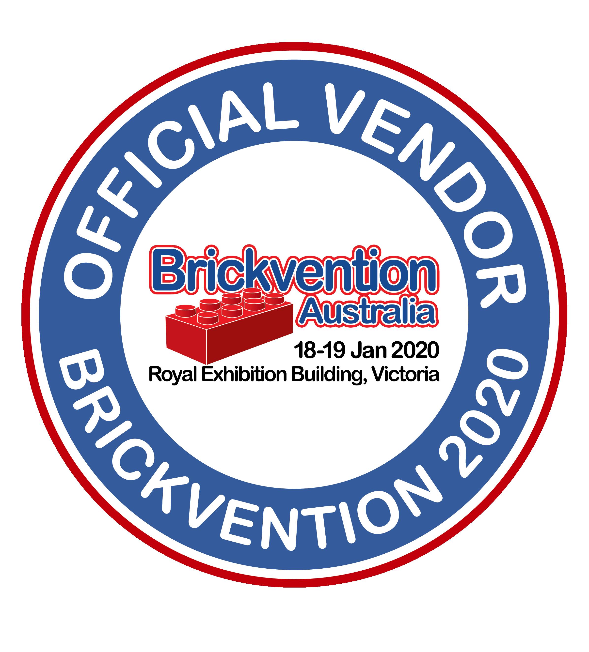 Official Vendor Brickvention 2020